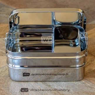 Stainless Steel Stackable Bento Box XL