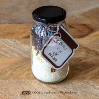 Meal Jar Curried Rice Prepped