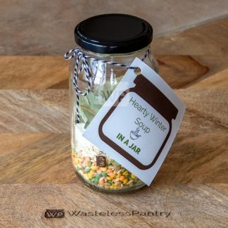 Meal Jar Hearty Winter Soup Prepped
